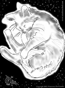 Cosmic Cat Nap, Francesca De Grandis