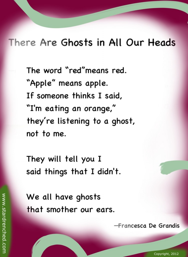 Ghost Poems | quotes.lol-rofl.com