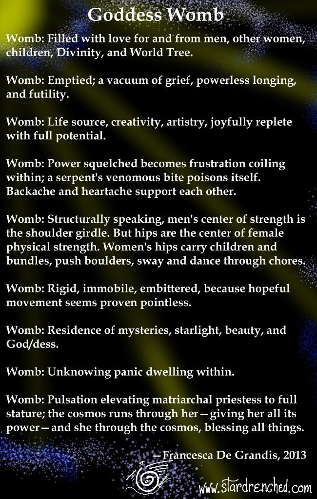 GoddessWomb